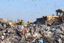 На Омском полигоне идет строительство завода по сортировке мусора